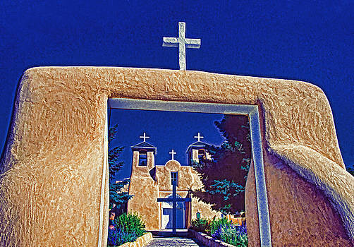 Dennis Cox WorldViews - Taos Church
