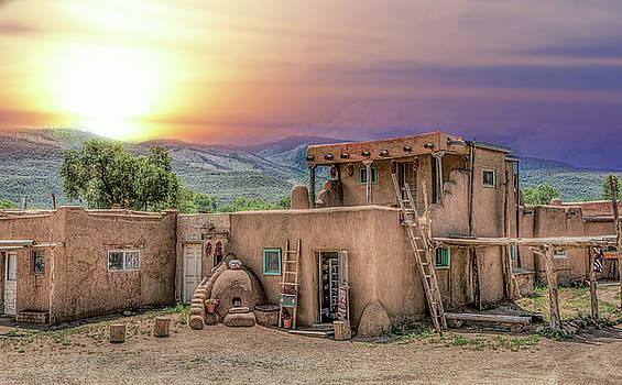 Taos Pueblo by Anna Rumiantseva