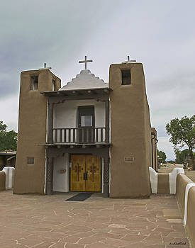 Allen Sheffield - Taos Pueblo Mission