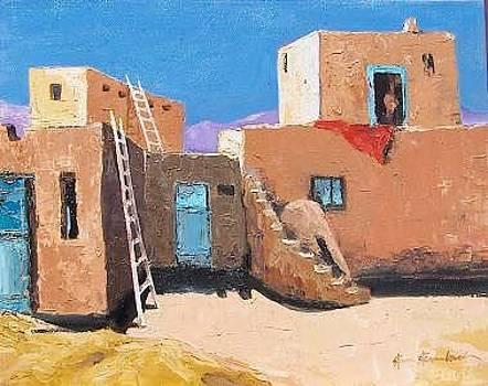 Taos Pueblos by Stan  Sternbach