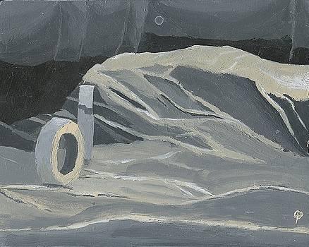 Tape Roll Still Life by Joseph Bradley