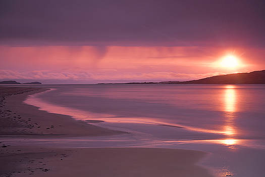 Taransay at sunset by Neil Alexander