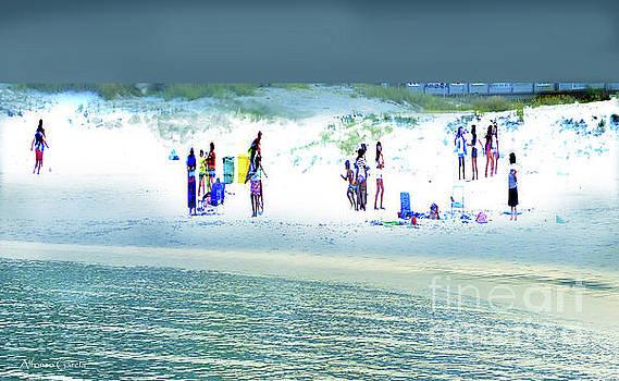 Tarde de Playa by Alfonso Garcia