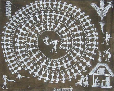 Tarpa dance by Jivya Soma Mashe