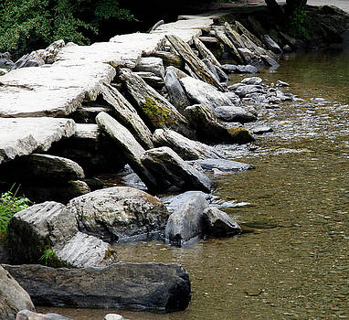 Tarr Steps, Exmoor by Mike Finding