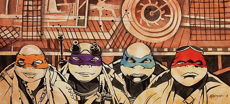 Tartarughe Ninja by Khromykh Natalia
