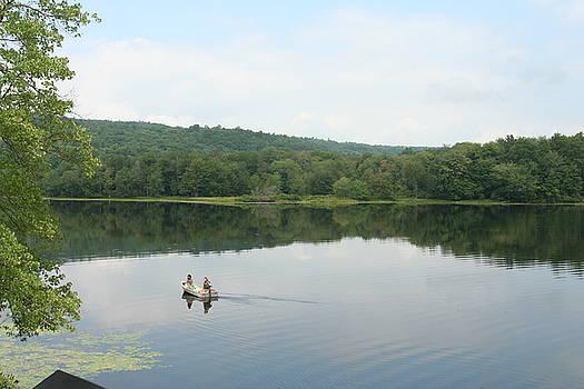 Tasawassa Lake NY by Wendy Munandi