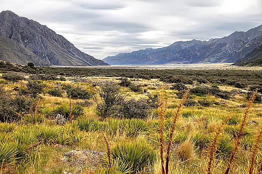 Tasman Valley, New Zealand by Martin Wackenhut