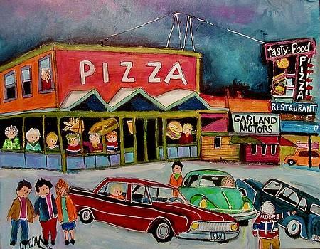 Tasty Food Pizza Decarie 1961 by Michael Litvack