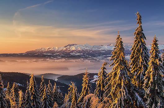 Tatras from Turbacz by Swen Stroop