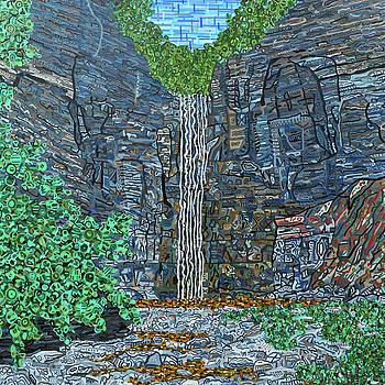 Taughannock Falls by Micah Mullen