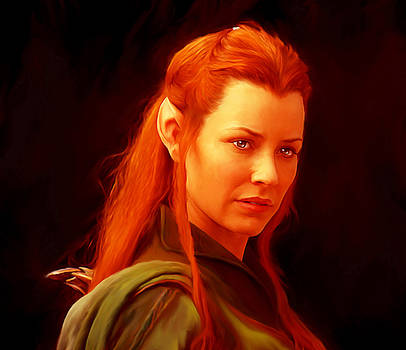 Tauriel by Martin James