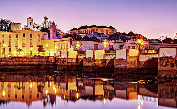 Tavira Reflections - Portugal by Barry O Carroll
