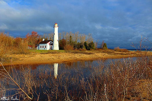 Sturgeon Point Lighthouse by Michael Rucker