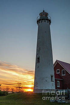 Tawas Point Light by Patrick Shupert