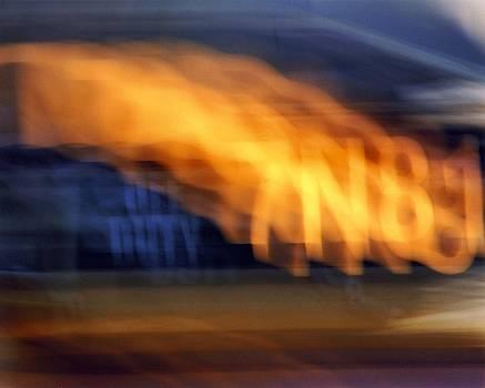 Karin Kohlmeier - Taxi Lights in Motion