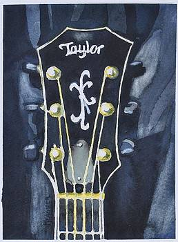 Taylor Guitar by Spencer Meagher