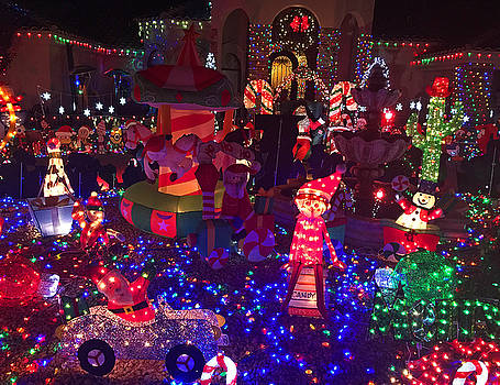 Robert Meyers-Lussier - Taylor Residence Christmas Lights Extravaganza 1
