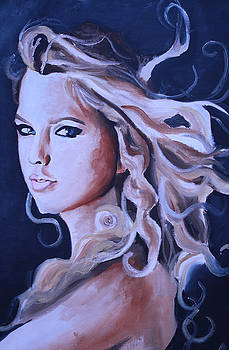 Taylor Swift Portrait by Mikayla Ziegler