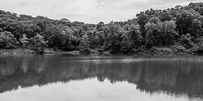Taylor's Lake In Black And White by Michael Putthoff