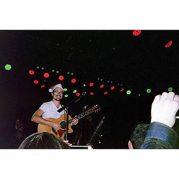 #tbt To Me Being All Festive On Stage by Dustin Belt