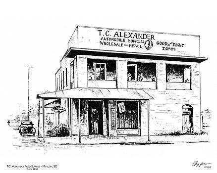 Greg Joens - TC Alexander Store