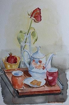 Tea break by Geeta Biswas