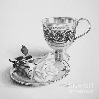 Tea cup III by Anna Starkova