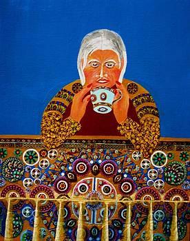 Tea Cup Reader by Bob Craig