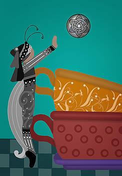 Tea Cup Stack by Lee DePriest