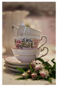 Sandra Foster - Tea Cups Still Life