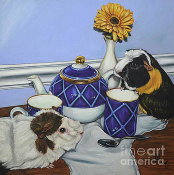 Tea For Critters by Rebecca Tiano
