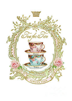 Tea for two by Wendy Paula Patterson