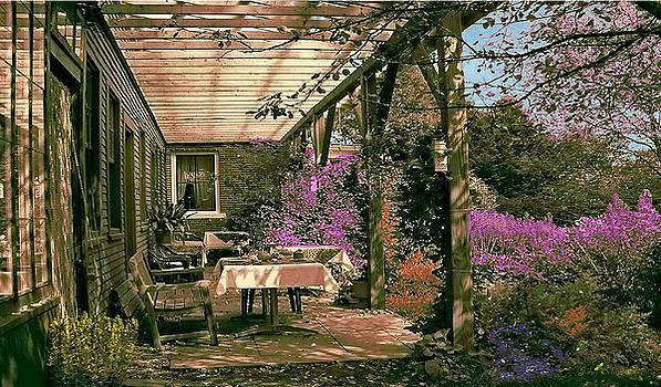 Tea Garden by John Selmer Sr