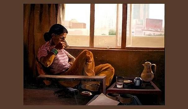 Tea In Hotel by Rupesh Kolvankar