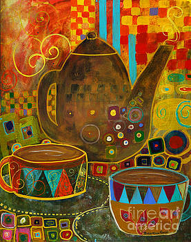 Tea Party with Klimt by Robin Maria Pedrero