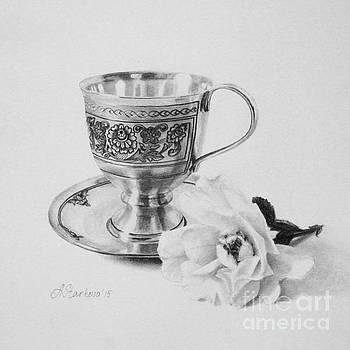 Tea rose I by Anna Starkova