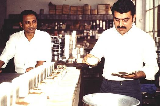 Tea taster, Calcutta by Barron Holland