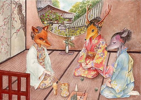 Tea Time by Eva Yue Wang