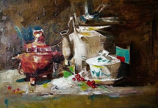 Tea time by Khalid Saeed