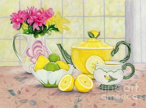 Tea Time - Lemons and Limes by Sherry Goeben