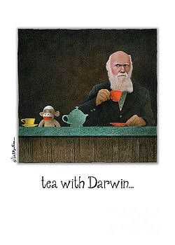 Will Bullas - tea with Darwin...