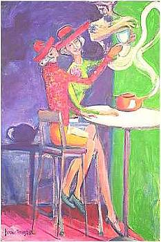 Tea With Genie by Dominic Fetherston