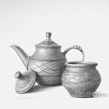 Tea with honey by Anna Starkova