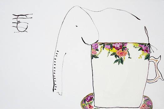 Teacup Elephant by Jenn Ashton