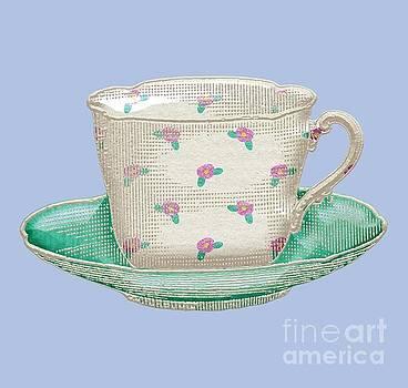 Teacup Garden Party 2 by J Scott