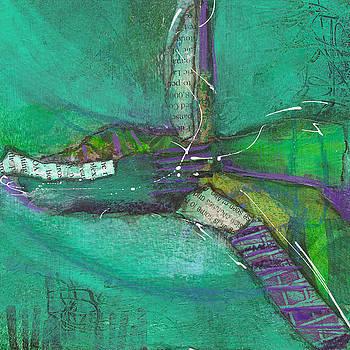 Teal Divide by Judy Applegarth