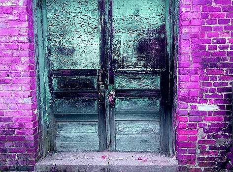 Teal Doors by Grant Marchand