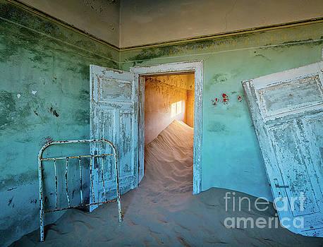 Teal Room by Inge Johnsson