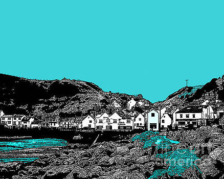 Teal Staithes by Tracy-Ann Marrison
